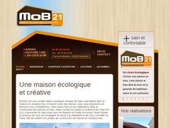 constructeur batisseur maison ossature bois en Bourgogne avec isolant naturel démarche écologique RT 2020