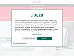 Détails : Jules : Prêt à porter homme