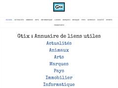 Détails : Annuaire généraliste Gtix référencement gratuit