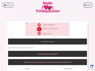 La web radio en ligne de chat-land