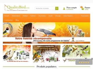 QualityBird : la boutique de vos oiseaux