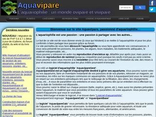 Aquavipare : L'aquariophilie, un monde ovipare et vivipare...