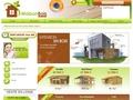 importation maison bois massif en kit