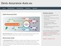 Devis Assurance Auto : comparatif d'assurances voiture