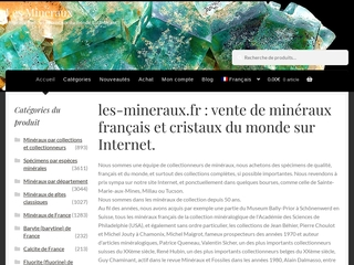 Vente ou achat de cristaux sur internet