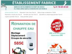 Plombier Paris 8 polyvalent à votre service