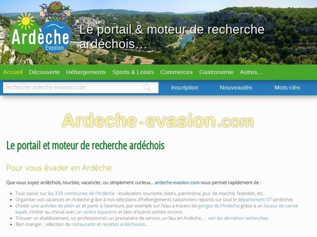 Ardèche évasion