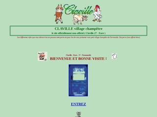 Claville 27 Eure visitez un village champêtre en Normandie