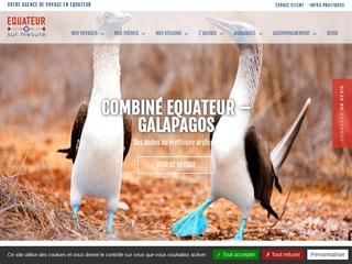 Équateur sur mesure, agence locale francophone à Quito