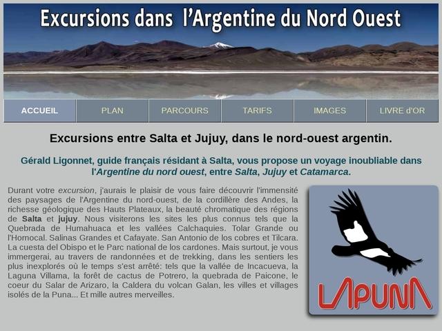 Tourisme dans le nord ouest argentin