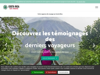 Costa Rica sur mesure, agence locale francophone
