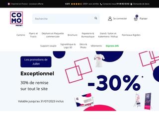 Impression de prospectus et de flyers avec Comoprint