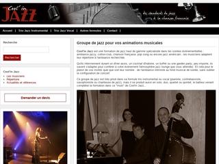 Un groupe de jazz haut de gamme – Cool'in Jazz