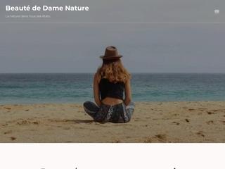 http://www.beaute-de-dame-nature.com est édité par chantal boddaert qui vous fait partager sa passion pour la photographie