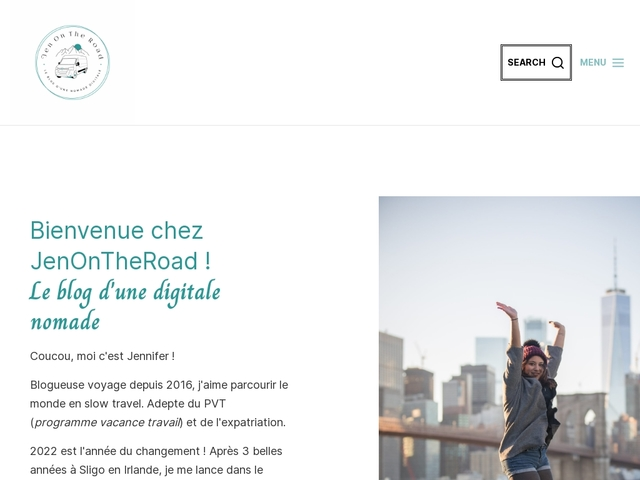 Jen On The Road, le blog qui aide les futurs voyageurs