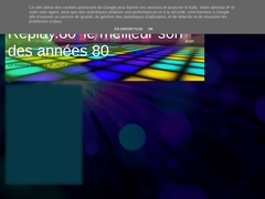 REPLAY 80' NON STOP - Mannuaire.net