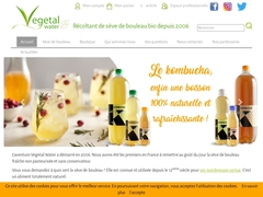 Vegetal water - Mannuaire.net
