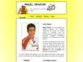 Site sur le champion cycliste Miguel Indurain