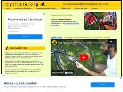 Vélo et Bicyclette - Réparation entretien et conseils