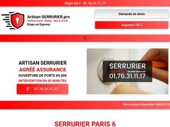Serrurier situé en plein centre de Paris 6 - Mannuaire.net