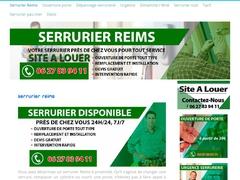Artisan serrurier expérimenté Reims - Mannuaire.net