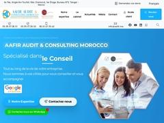 AAFIR EXPERT COMPTABLE  TANGER MAROC - Mannuaire.net