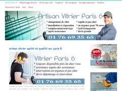 Artisan vitrier Paris 6 - Rapide et efficace - Mannuaire.net