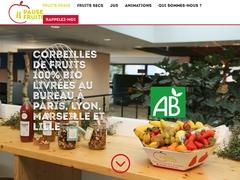 Livraison de corbeilles de fruits au bureau : Pause fruitée