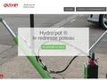 Une entreprise de réparation de poteaux à signalisation électrique