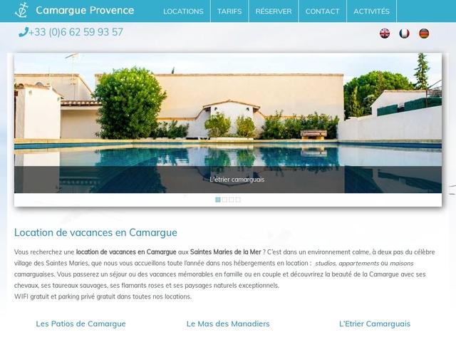 Camargue Provence, Location vacances à Saintes-Maries-de-la-Mer