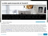 La faille spatio-temporelle de Tamala75 - Tamala75