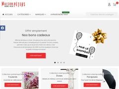 Maison Péters: foulard, écharpe, parapluie - Mannuaire.net