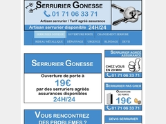 Serrurier Gonesse disponible 24h/24