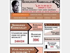Changement de serrure Rambouillet - Mannuaire.net