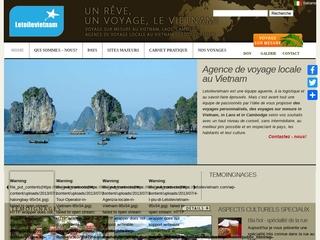Letoilevietnam : Agence de voyage au Vietnam