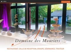 Domaine des Mauriers : location de salle, traiteur - Mannuaire.net