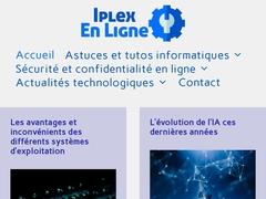 Détails : IPLEX-enligne.com