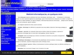 Détails : Matériel informatique: le dictionnaire
