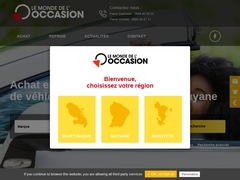 Vente voiture d'occasion Guyane
