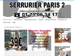 Serrurier agréé assurances Paris 2