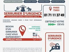 Artisan serrurier Paris 3 - Rapide et pas cher - Mannuaire.net