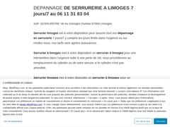serrurier limoges - Mannuaire.net