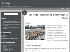 Détails : Ferronnerie d'art Presence Forge