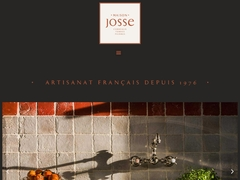 Détails : Carrelage en terre cuite, carrelage ancien, pavé en terre cuite : les fabrications Josse