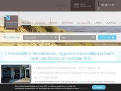 L'immobilière Vendéenne :  Saint-Jean-de-Monts - Mannuaire.net