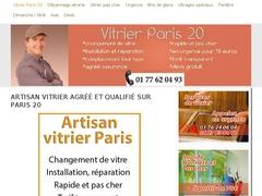 Dépannage vitrier Paris 20 - travail de qualité - Mannuaire.net