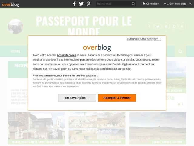 Passeport pour le monde : blog pour l'aventure et l'insolite