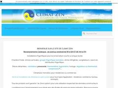 Climat Zen - Froid et climatisation professionnele - Mannuaire.net