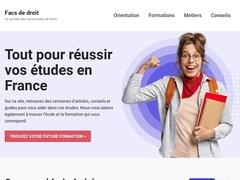 facs de droit - Mannuaire.net