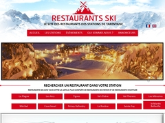 Restaurants-Ski, votre restaurant aux Arcs ! - Mannuaire.net